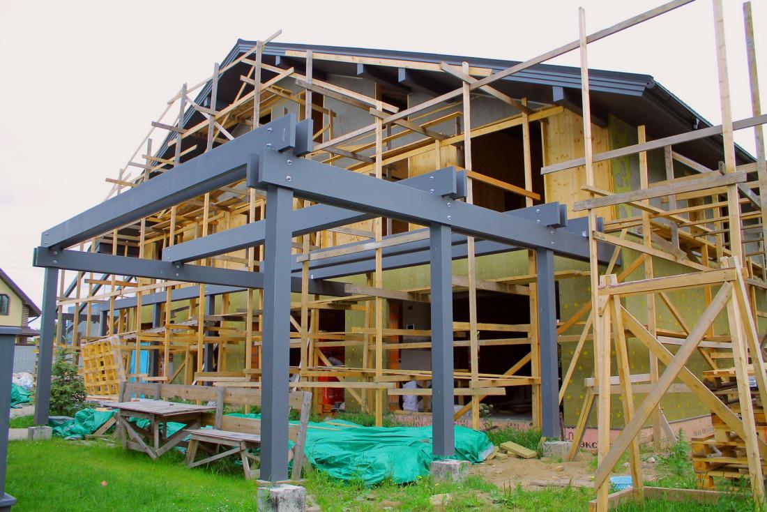 Строительство деревянного дома из клееного бруса и CLT плит