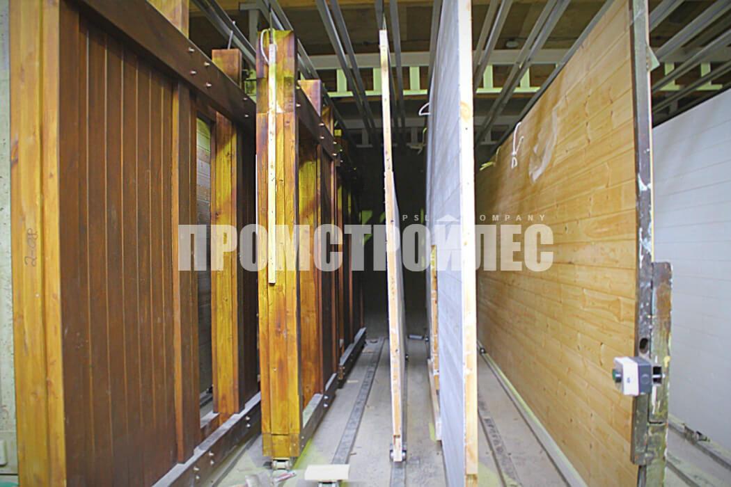 Изготовление деревянных панелей фахверк от компании «Промстройлес»