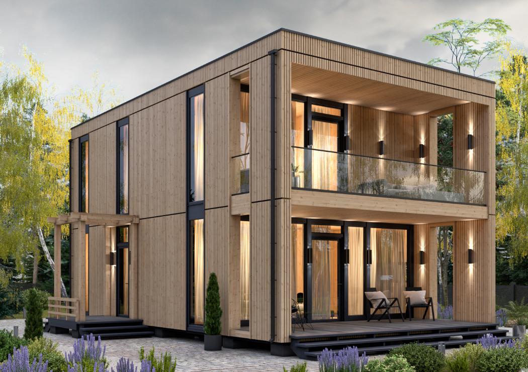 Завод по производству модульных домов различного назначения от «Промстройлес»