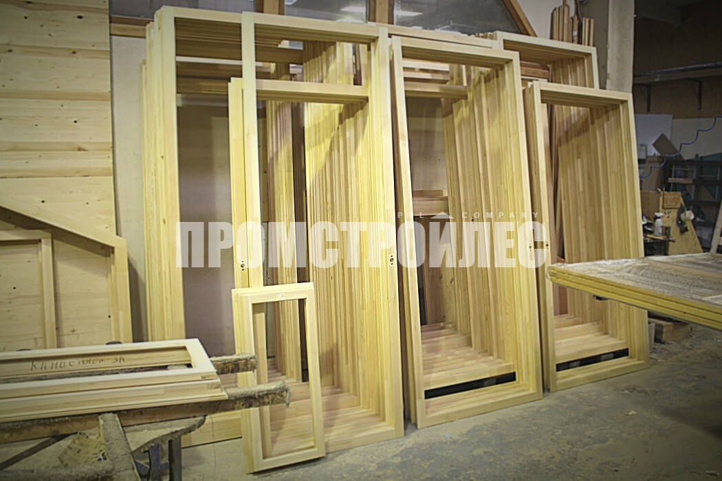 Производство деревянных окон и балконных блоков от компании «Промстройлес»