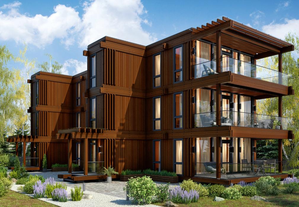 Изготовление модульных домов, дач и коттеджей от компании «Промстройлес»