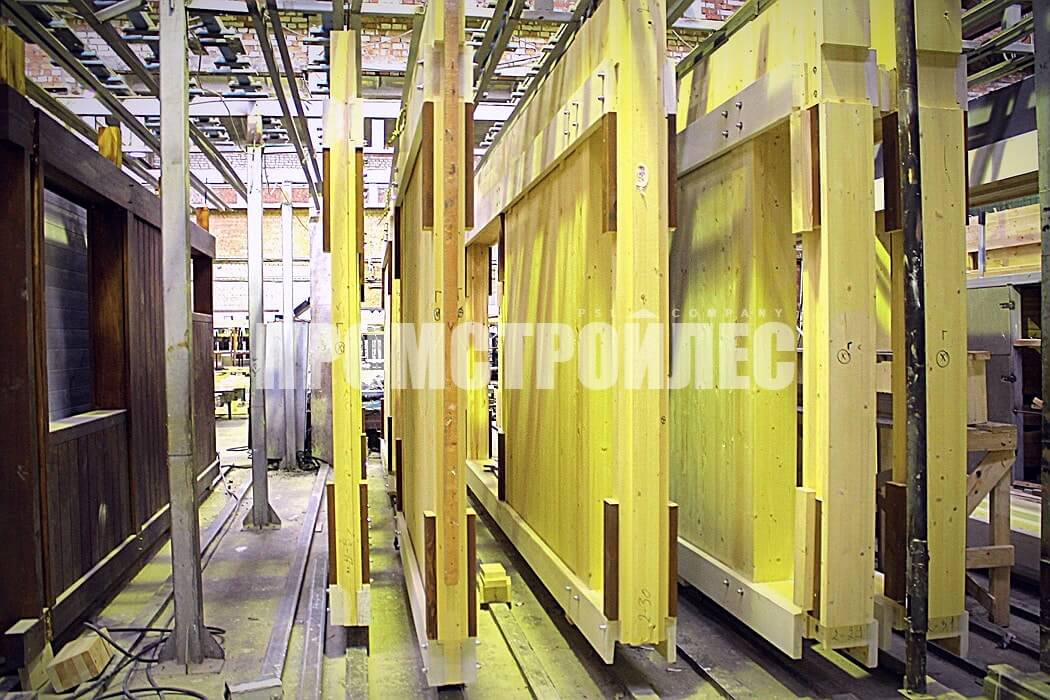 Завод по производству фахверковых панелей «Промстройлес»