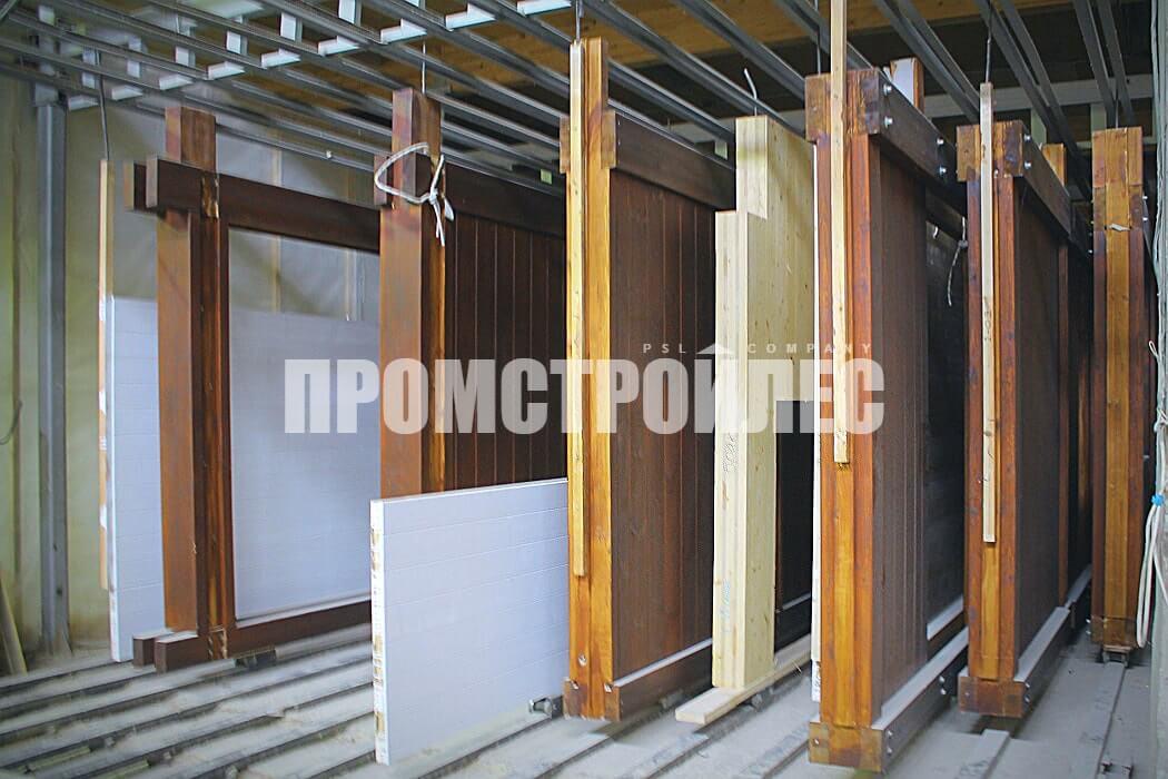 Производство фахверк-панелей для строительства домов «Промстройлес»