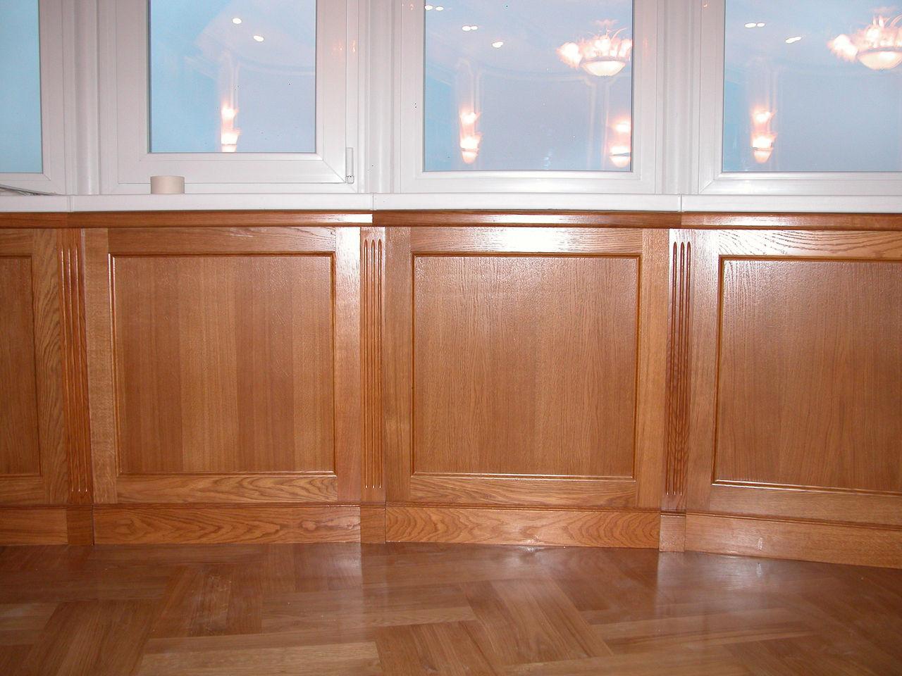 Деревянные стеновые панели из ценных пород древесины
