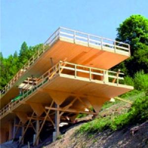 Экологически чистые строительные материалы - стеновые деревянные панели CLT