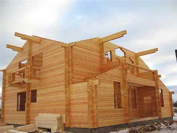 Монтаж деревянных домов собственного проихзводства