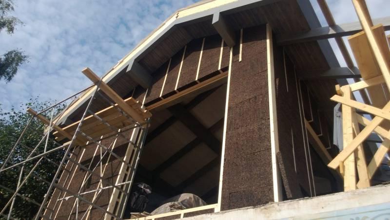 побковый материал применяемый в строительстве домов