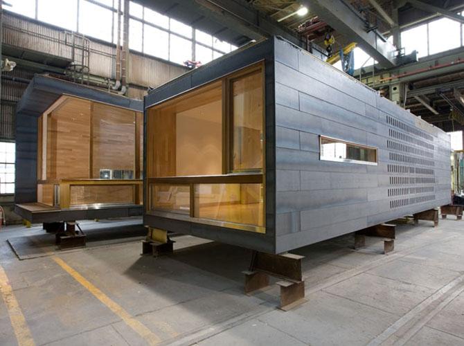 блок-контейнеры для модульного строительства