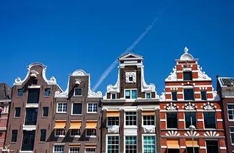 Фахверковые дома в голландском стиле