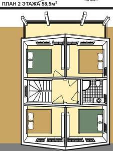 второй этаж дома в австрийском стиле