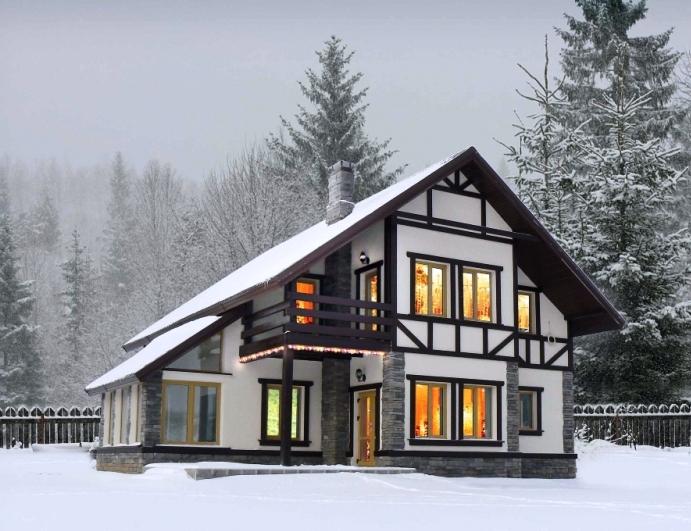 каркасно-панельные дома от компании Промстройлес