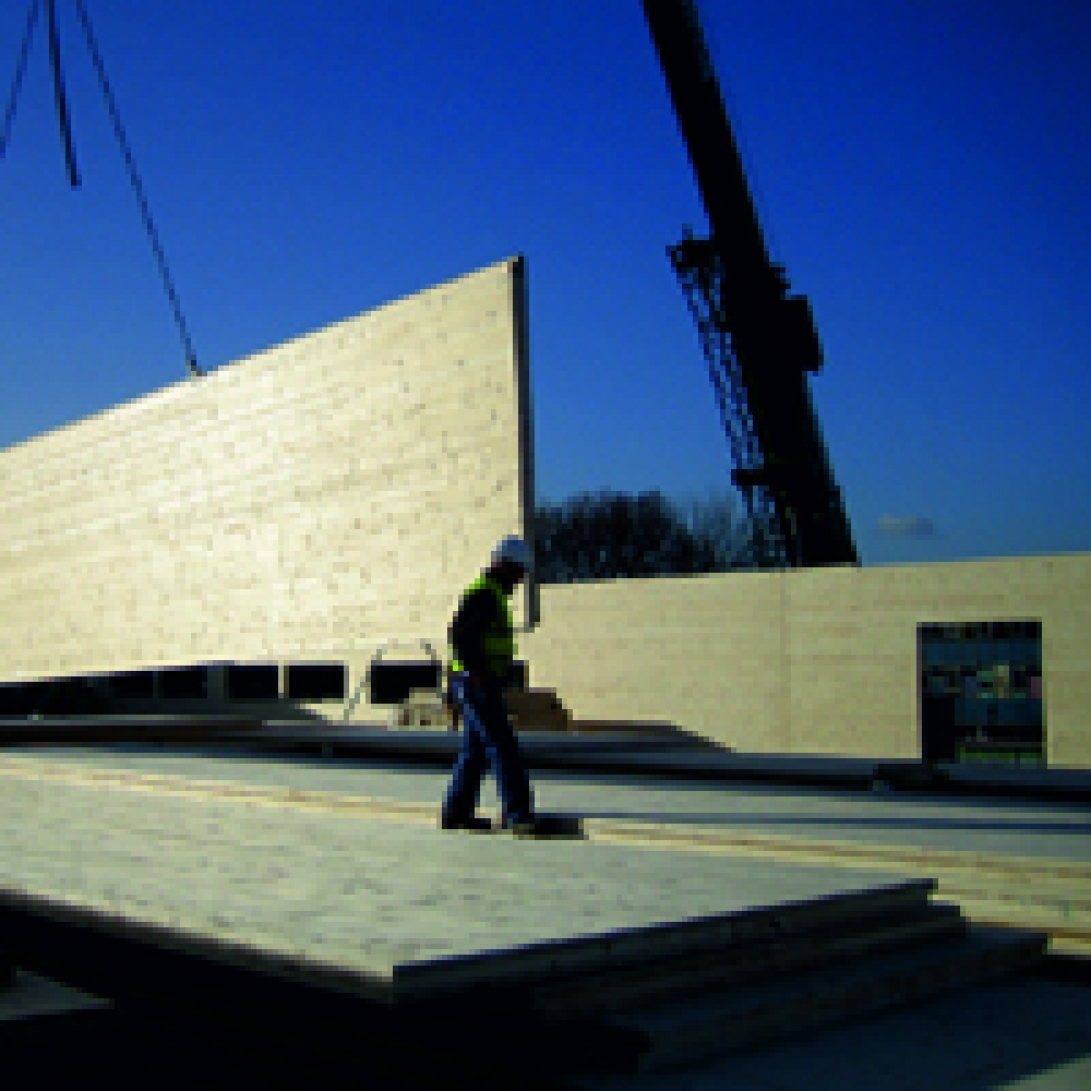 Деревянные клееные стеновые панели для многоэтажного домостроения