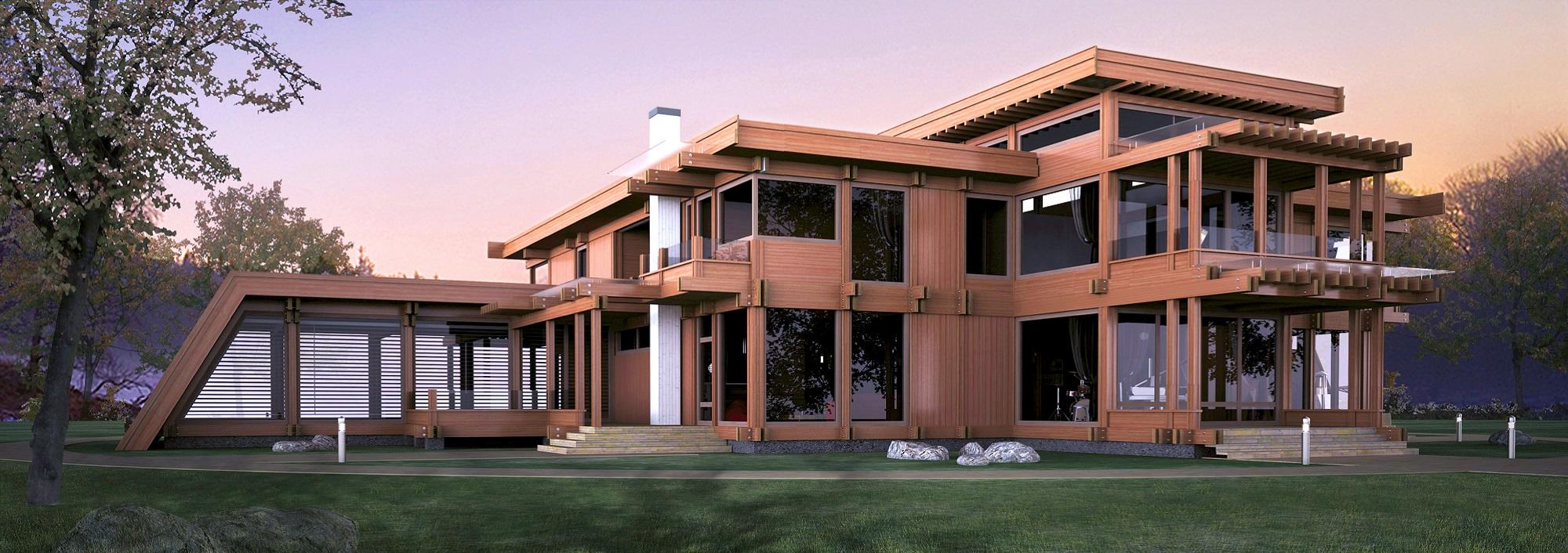 Элитный дом в стиле Pagano